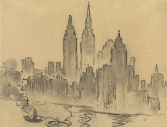 new york city by william samuel horton
