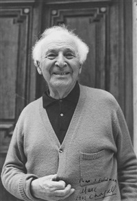 portrait marc chagall by andré villers