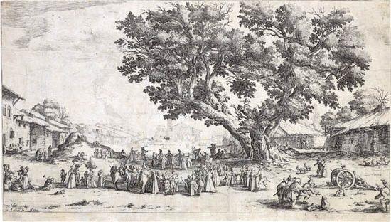 la foire de gondreville by jacques callot