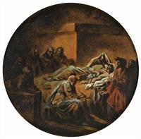 la mort de socrate by jacques gamelin