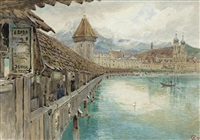 lake lucerne by harry goodwin