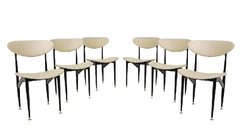 Scape dining chairs set of 6 by Grant Featherston on artnet