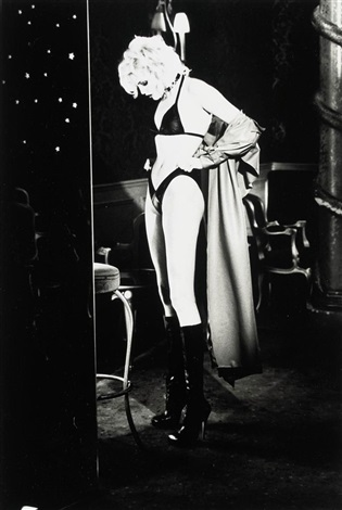 nadja getting ready paris by ellen von unwerth