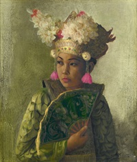 legong dancer by dullah