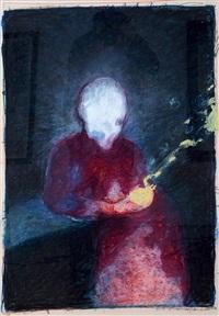 verliebter kardinal by gottfried helnwein