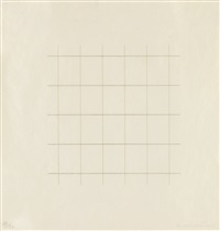 on a clear day by agnes martin