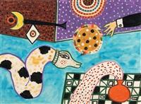 shamans drum no. 1 by alan davie