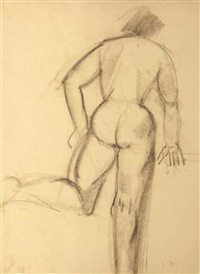 femme nue de dos by louise bourgeois