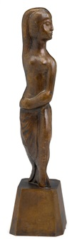 standing nude by william zorach