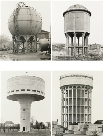 châteaux deau 8 works by bernd and hilla becher