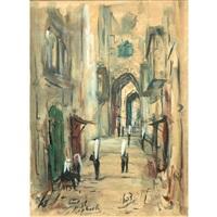 street scene by zvi raphaeli