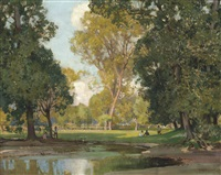 the valley of the ouse by sir alfred east