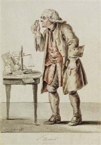 l'usurier by joseph franz (baron of) götz