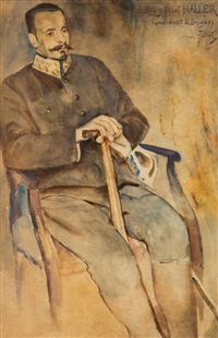 portret józefa hallera by julian falat