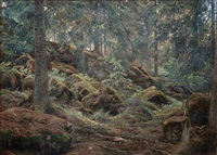 in the forest by berndt adolf lindholm