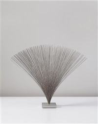 spray sculpture by harry bertoia