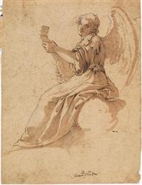 angelo musicante by domenico peruzzini
