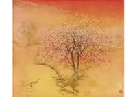 autumn in asuka by toshio tabuchi
