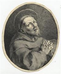 san francesco orante by pietro antonio novelli