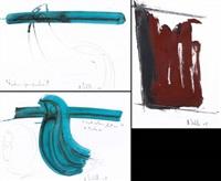 senza titolo, festone per padova e particolare festone per padova (3 works) by antonio ievolella