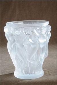 vase en verre by rené lalique