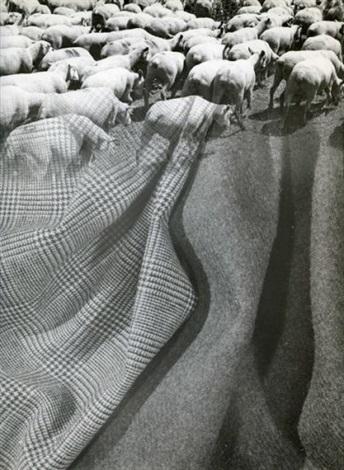 photomontage publicitaire pour les tissus dormeuil by pierre boucher