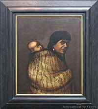 anna rupene and child by gottfried lindauer