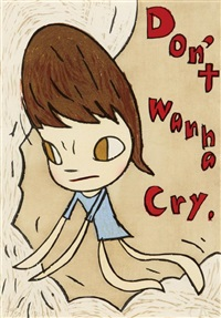 don't wanna cry by yoshitomo nara