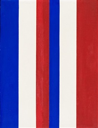 o.t. (blau-weiß-rot) by andreas brandt