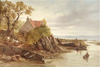 cramond ferry by john jack