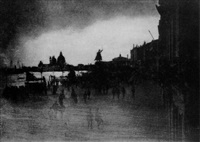 riva schiavoni, venedig by james craig annan