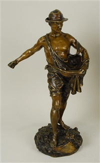 le semeur - the sower by jules-jacques labatut