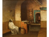 algerian cafe by william sartain