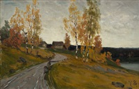 Autumn birches, 1878