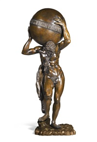 hercules supporting a celestial globe by pietro tacca