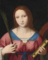 saint catherine of alexandria by bernardino luini