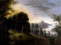 luminous landscape with figures by american school-hudson river (19)