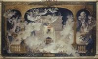 esquisse pour la trinité poétique: l'apothéose de victor hugo by edouard-marie-guillaume dubufe