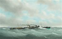 le torpilleur de la marine russe pernov by eugene grandin