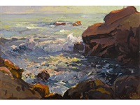 monterey on 17 mile drive by franz arthur bischoff