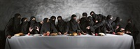 last supper, gaza by vivek vilasini