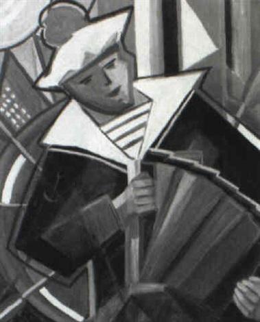 accordion player by pavel kotlarevsky