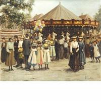 at the fair by henricus gerardus de korte