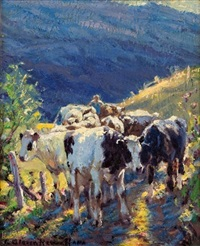 back from the hills by george glenn newell