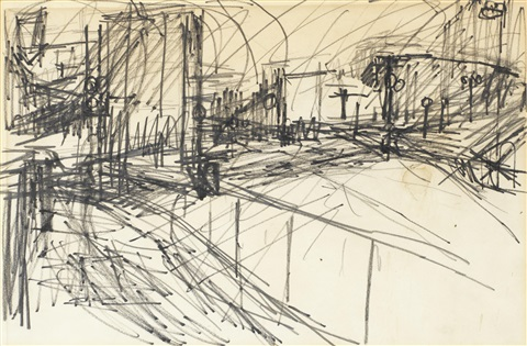 drawing by frank auerbach