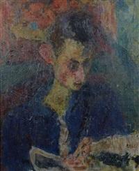 portrait d'homme by eugène ebiche