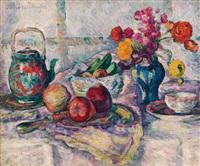 pommes et fleurs by lucie cousturier