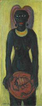 femme noire by samir rafi