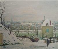 hiver à saint cloud by jean helleu