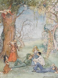 so they were in the garden by florence anderson